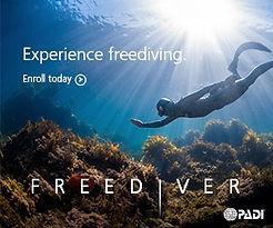 Freediving PADI experience. Apnée. Spécialité Apnée Freediver à Paris, Formation à la carte. Cours PADI en fosse 5 10 20m, piscine, mer, lac du débutant au moniteur. Vente Livre Manuel PADI