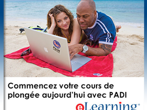 E-learning Divemaster PADI (english)