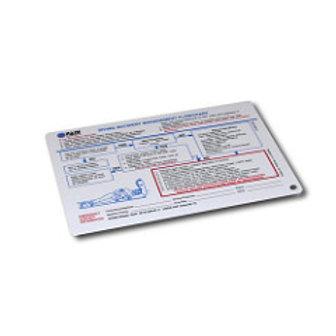 Rescue Cue Card Premiers Secours