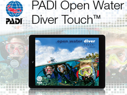 E-learning Open Water PADI