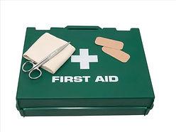 First aid kit, pharmacie, trousse de premier secours.Instructeur Secourisme EFRI PADI à Paris, Formation à la carte en salle de cours. Cours et brevets PADI Soins Primaires et Secondaires . Vente Livre Manuel PADI