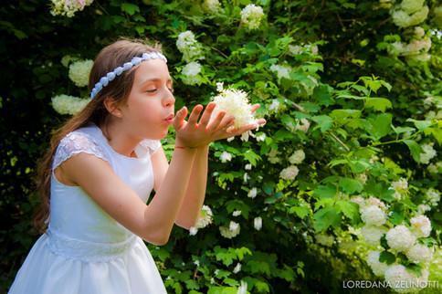 servizio fotografico comunione selezione