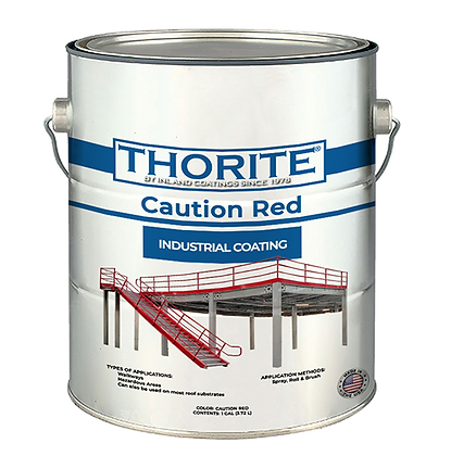 Caution Red Industrial Coating