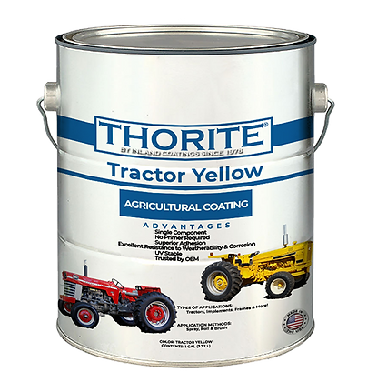 Tractor Yellow