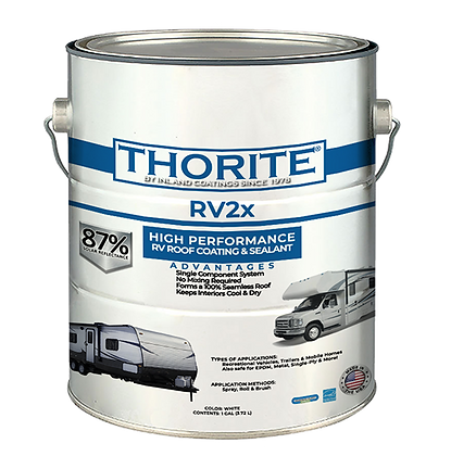 RV2x High Performance RV Roof Coating