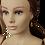 Thumbnail: AMELIE Mannequin Head | 24in & 240g (Brown eyes)