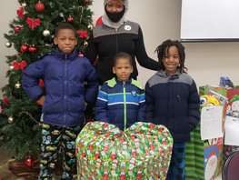 First State Provides Holiday Gifts and Clothing to Families in Need