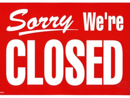 Agency Closed - June 29
