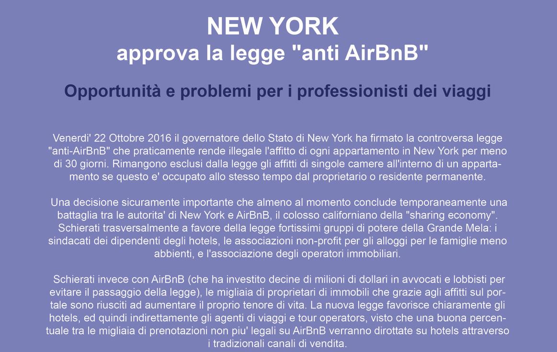 New York approva la legge anti AirBnB.jp