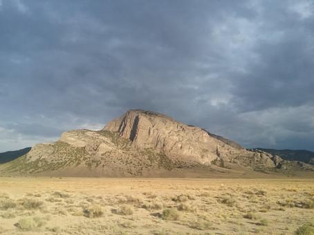 Tramonto nel Deserto del Nevada. #Nevada #Deserto #Americaontheroad #ViagginAmerica
