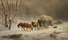William_Hahn_-_Going_Home_(Pioneers_Braving_a_Storm).jpg