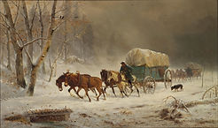 William_Hahn_-_Going_Home_(Pioneers_Brav