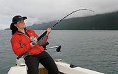 SIERRA Fishing While Female Kate Alaska
