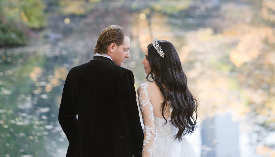 Central Park Wedding Shoot