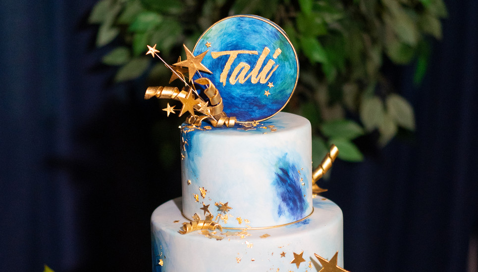 Starry Night themed Cake by Ron Ben Israel
