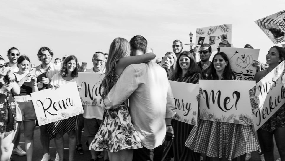 Proposal at Long Branch Boardwalk, NJ
