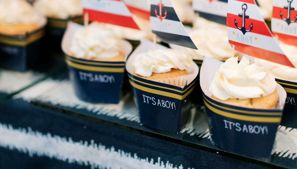Nautical Party Desserts