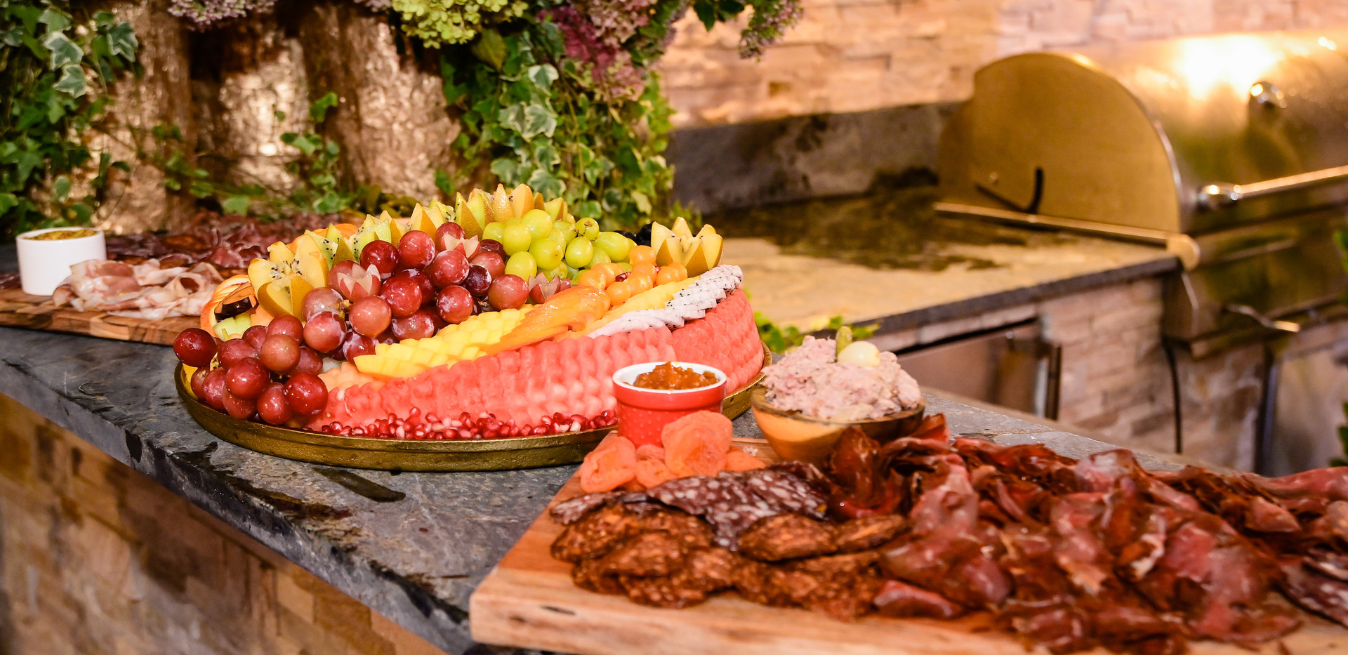Event Chatcuterie and Fruit Platter