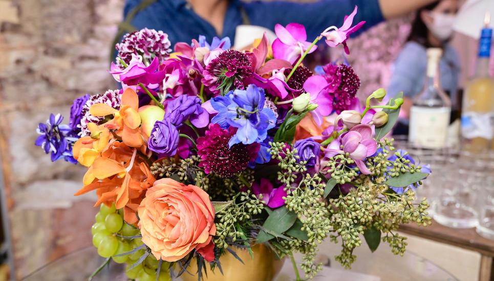 Fall Color Florals