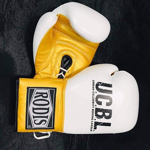 UCBL Boxing Gloves - White
