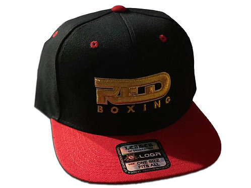 Red Boxing Cap - Red