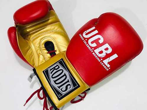 UCBL Boxing Gloves - Red