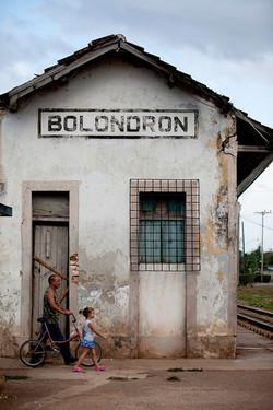 Bolondron Train Station