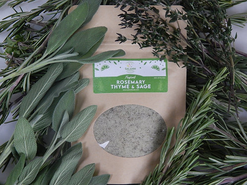 Rosemary, Thyme & Sage infused Sea Salt Seasoning (Kraft-Bag)