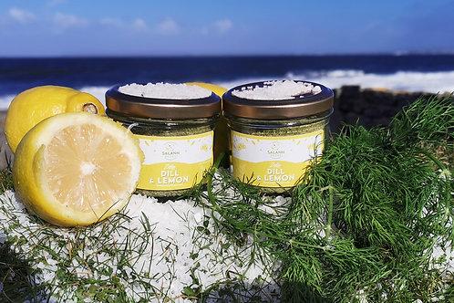 Dill & Lemon Infused Sea Salt Seasoning (Jar)