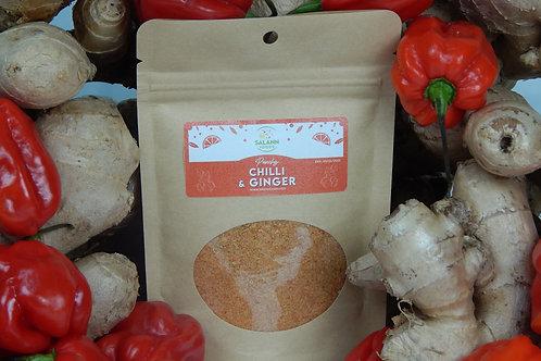Chilli & Ginger infused Sea Salt Seasoning (Kraft-Bag)