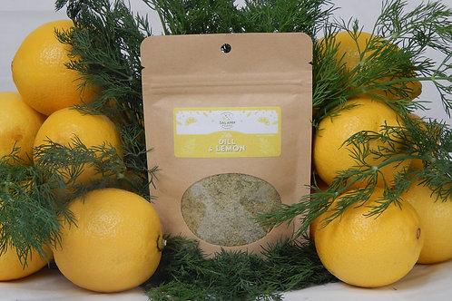 Dill & Lemon infused Sea Salt Seasoning (Kraft-Bag)