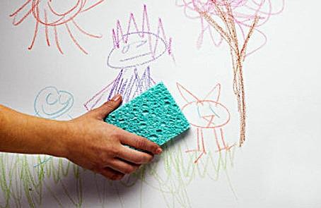 Como limpar sujeiras numa superfície pintada