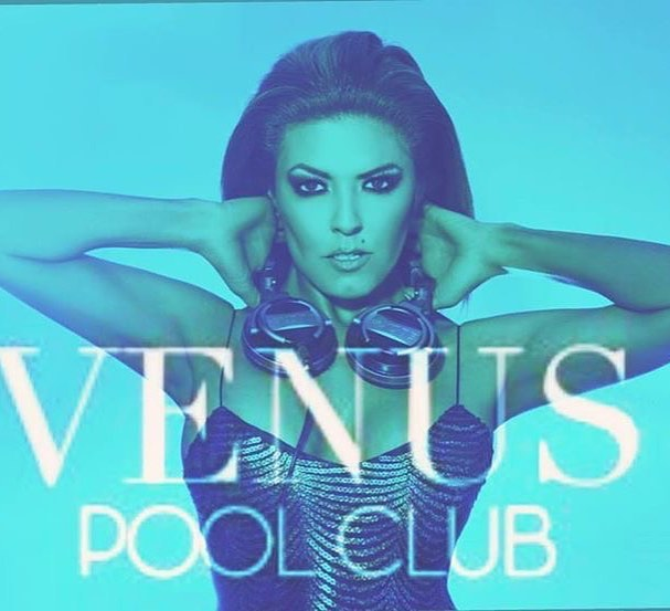 Tomorrow 12-3PM  at the _caesarspalace  _venuspoolclub  with _djlizclark Liz Clark No Cover! #Vegas
