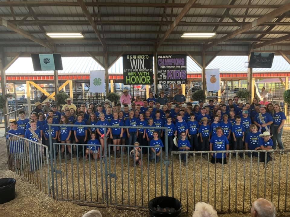 2019 CYE Livestock Sale Participants