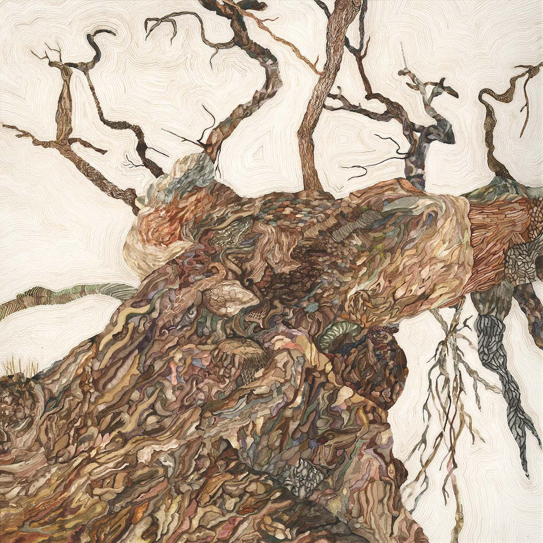 Oak Tree Watercolour Painting