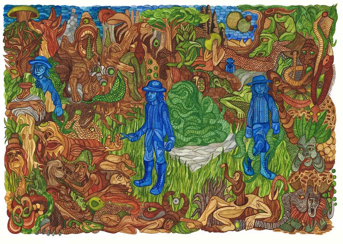 Speaking Watercolour Painting
