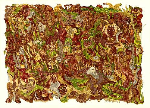 """""""Monster Forest"""" Artist Print"""