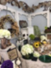 Jody's Decor showroom photo - rustin wedding theme