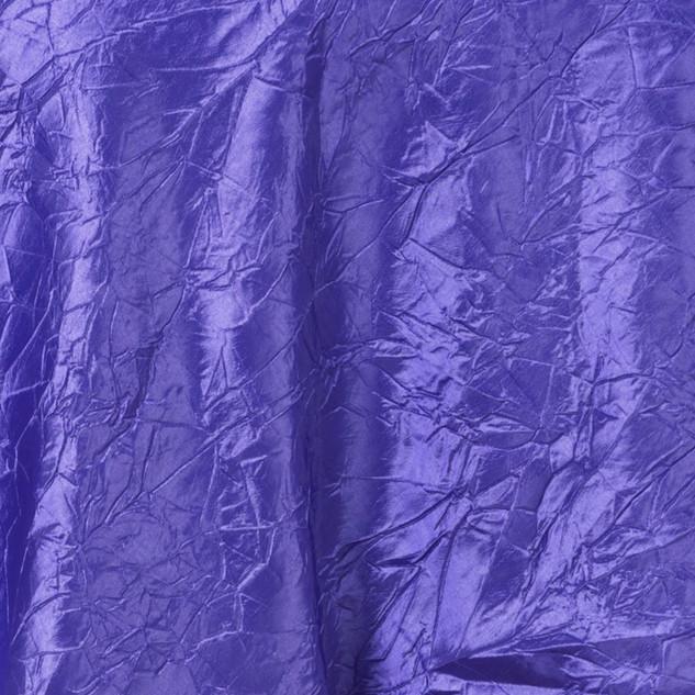 """72"""" Taffeta Crinkle Overlay Purple"""