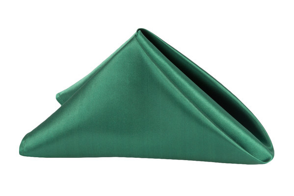 Satin Napkin Emerald Green