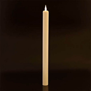 LED Flameless Taper Candles Ivory