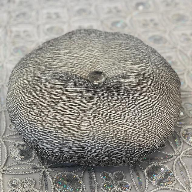 Silver Cinderella Pillow