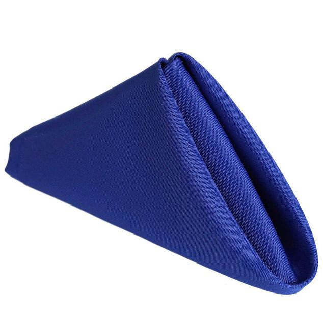 Polyester Napkin Royal Blue