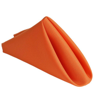 Polyester Napkin Orange