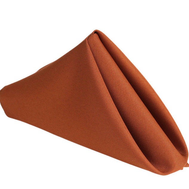 Polyester Napkin Burnt Orange