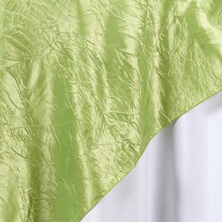 "72"" Taffeta Crinkle Overlay Apple Green"