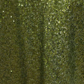"""72"""" Sequin Square Overlay Willow Green"""