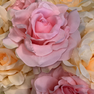 Accent Flowers - Pink, Peach & Champagne