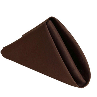 Polyester Napkin Chocolate
