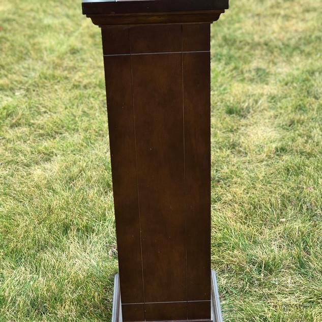Wooden Pillar Brown